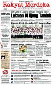 Cover Rakyat Merdeka 20 Maret 2019