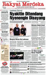 Cover Rakyat Merdeka 21 Maret 2019