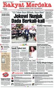 Cover Rakyat Merdeka 24 Maret 2019