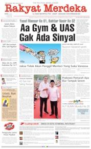 Cover Rakyat Merdeka 10 April 2019