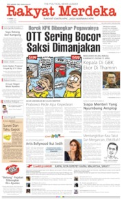 Rakyat Merdeka Cover 11 April 2019