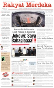 Cover Rakyat Merdeka 14 April 2019