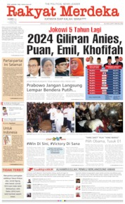 Cover Rakyat Merdeka 18 April 2019