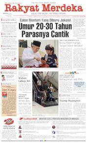 Cover Rakyat Merdeka 12 Mei 2019