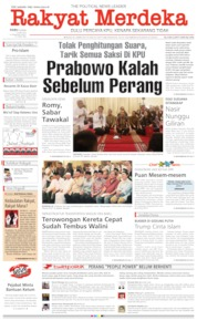 Rakyat Merdeka Cover 15 May 2019