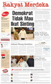 Rakyat Merdeka Cover 16 May 2019