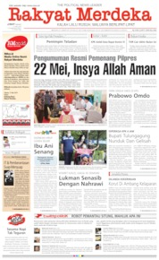 Rakyat Merdeka Cover 17 May 2019