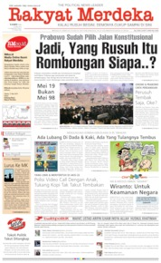 Rakyat Merdeka Cover 23 May 2019