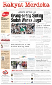 Rakyat Merdeka Cover 24 May 2019