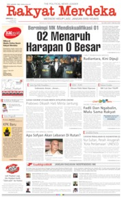 Rakyat Merdeka Cover 26 May 2019