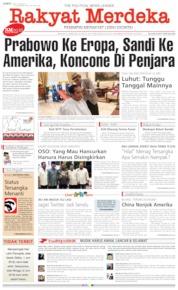 Rakyat Merdeka Cover 31 May 2019