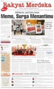 Rakyat Merdeka Cover 02 June 2019