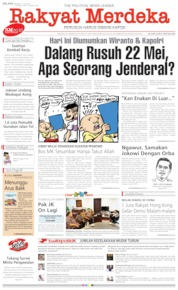 Rakyat Merdeka Cover 11 June 2019