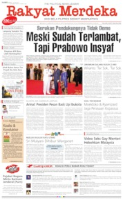 Rakyat Merdeka Cover 13 June 2019