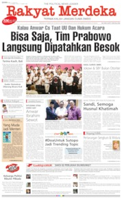Rakyat Merdeka Cover 17 June 2019
