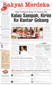 Rakyat Merdeka Cover 18 June 2019