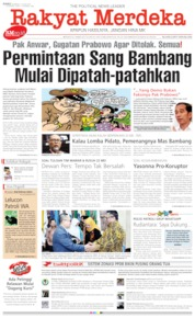 Rakyat Merdeka Cover 19 June 2019