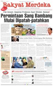 Cover Rakyat Merdeka 19 Juni 2019