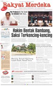 Cover Rakyat Merdeka 20 Juni 2019