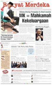 Cover Rakyat Merdeka 22 Juni 2019