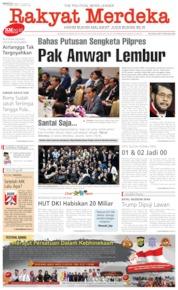 Cover Rakyat Merdeka 23 Juni 2019