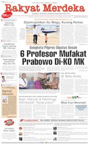 Rakyat Merdeka Cover 26 June 2019
