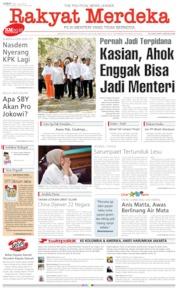Cover Rakyat Merdeka 12 Juli 2019