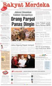 Cover Rakyat Merdeka 13 Juli 2019
