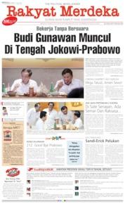 Cover Rakyat Merdeka 14 Juli 2019