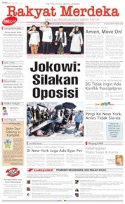 Rakyat Merdeka Cover 15 July 2019