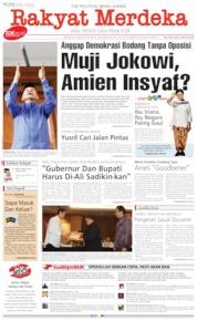 Cover Rakyat Merdeka 16 Juli 2019