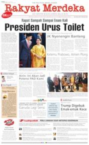 Cover Rakyat Merdeka 17 Juli 2019
