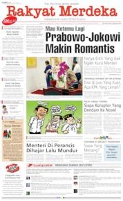 Cover Rakyat Merdeka 18 Juli 2019