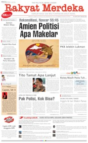 Rakyat Merdeka Cover 21 July 2019