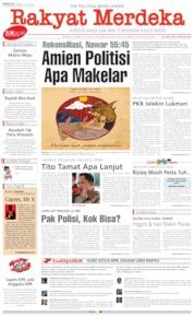 Cover Rakyat Merdeka 21 Juli 2019