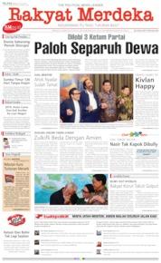 Cover Rakyat Merdeka 23 Juli 2019