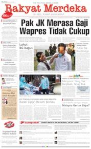 Rakyat Merdeka Cover 30 July 2019