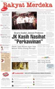 Rakyat Merdeka Cover 31 July 2019