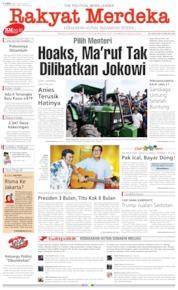 Rakyat Merdeka Cover 01 August 2019