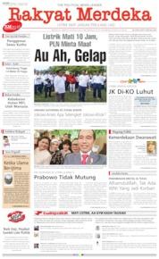 Rakyat Merdeka Cover 05 August 2019