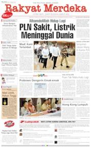 Rakyat Merdeka Cover 06 August 2019
