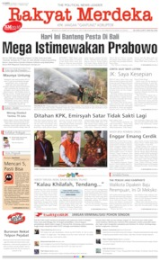 Rakyat Merdeka Cover 08 August 2019