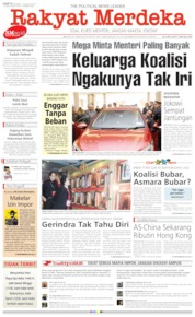 Rakyat Merdeka Cover 10 August 2019