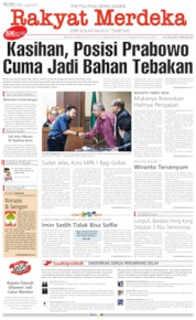 Rakyat Merdeka Cover 13 August 2019