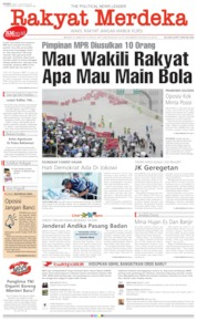 Rakyat Merdeka Cover 14 August 2019