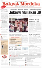 Rakyat Merdeka Cover 15 August 2019