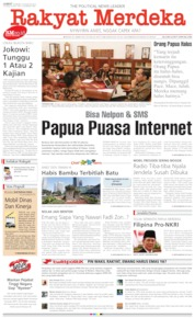 Rakyat Merdeka Cover 23 August 2019