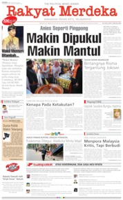 Rakyat Merdeka Cover 26 August 2019