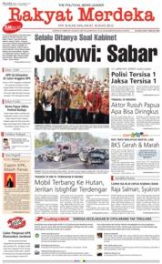 Rakyat Merdeka Cover