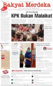 Cover Rakyat Merdeka 11 September 2019